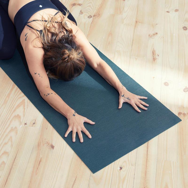 Principes tapis de yoga go sport et intersport de bonne pratique du naturel tapis de yoga écologique bio