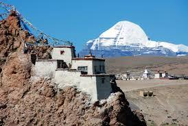 Chiu Gompa et le mont Kailash