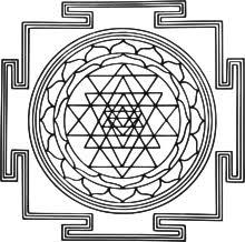 Le shri yantra en trois dimensions.