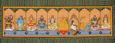 Les yantras des dix Maha Vidyas ou les 10 éléments du symptôme du Divin Féminin (Shakti).